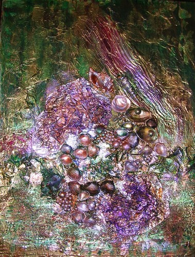 """In the Forest, mixed-media, 20""""x16"""" $600"""