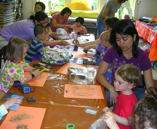 Kids art class in Vancouver