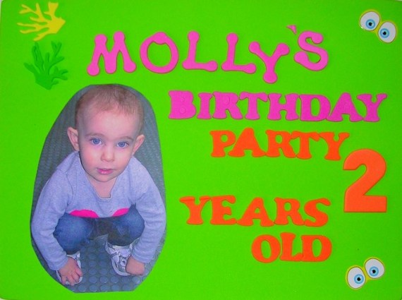 Molly's birthday party - 2 years old
