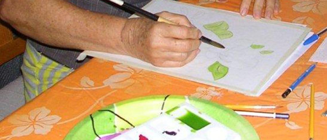 Watercolour Pencil Painting